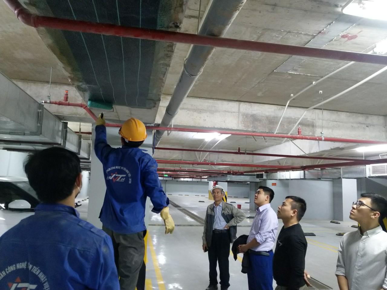 Dự án gia cường tòa nhà cao tầng tại Nam Từ Liêm TP.Hà Nội